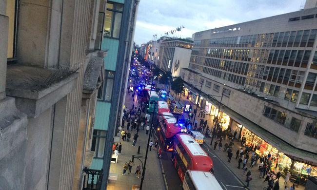 Robbanás hallatszott: futva menekültek az emberek London belvárosából