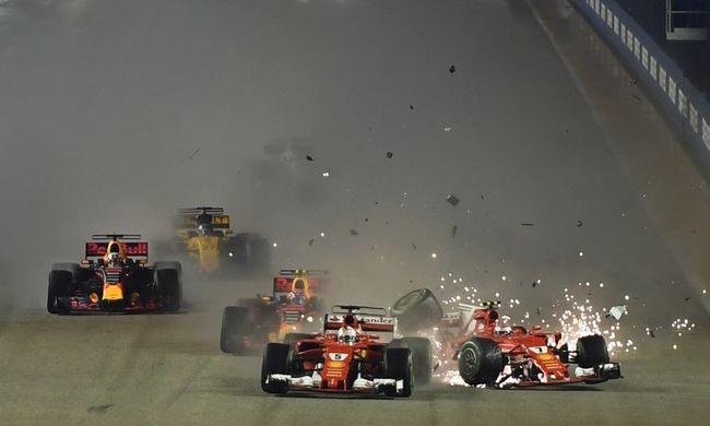 Ferrari-dráma és Hamilton-öröm Szingapúrban