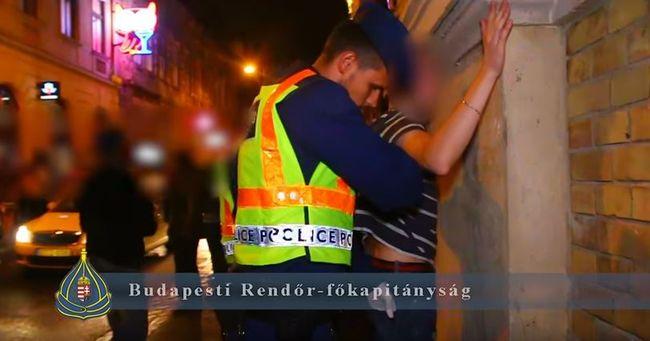 Megtisztítják a bűnözőktől a bulinegyedet, megint razziáztak a rendőrök