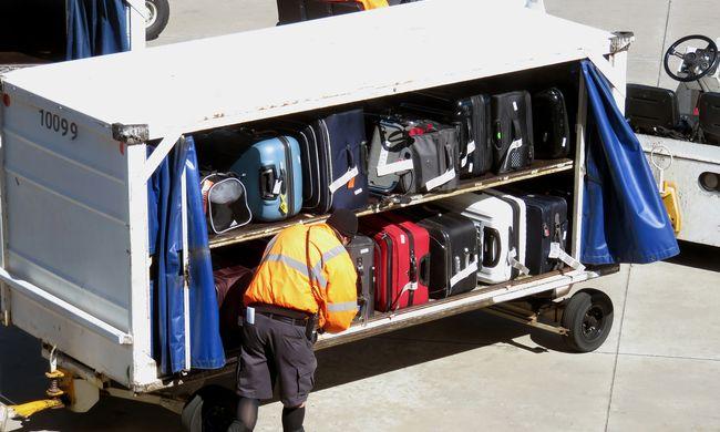 Ismét gond volt a poggyászokkal: feltúrták a bőröndöket Ferihegyen
