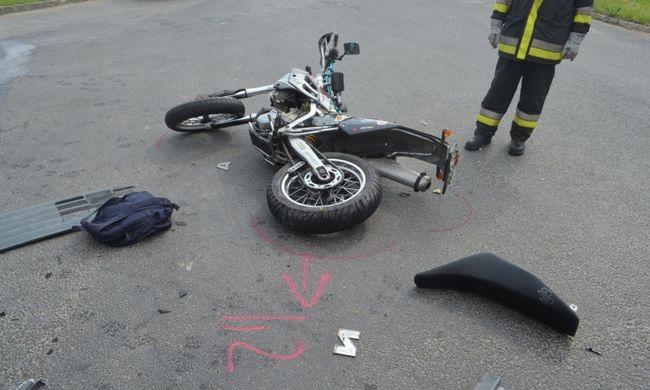 Nem adott elsőbbséget a győri férfi, miatta halt meg a motoros
