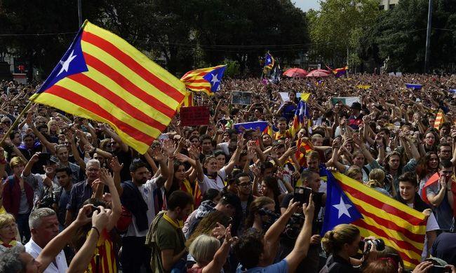 Óriási a tét: ma újra szavaznak a katalánok