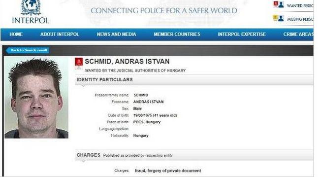 Közölték Andrással, hogy körözi az Interpol - felismeri magát, de tagad