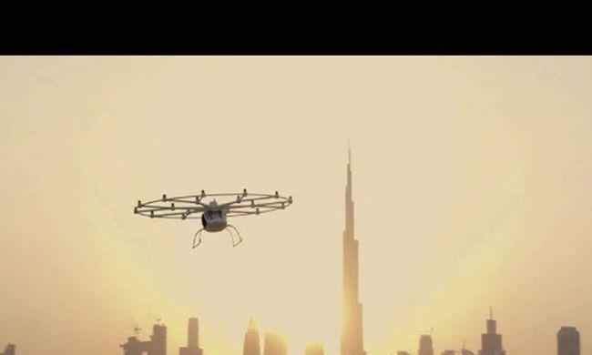 Ez már a jövő: így repül az önvezető légitaxi