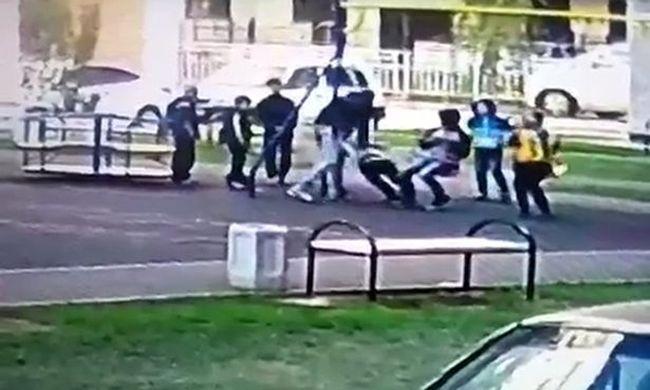 Brutális támadás a játszótéren: felnőtt férfi verte meg a 9 éves gyerekeket