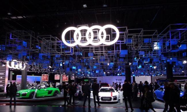 Az Audi megmutatta a jövő autóit Frankfurtban