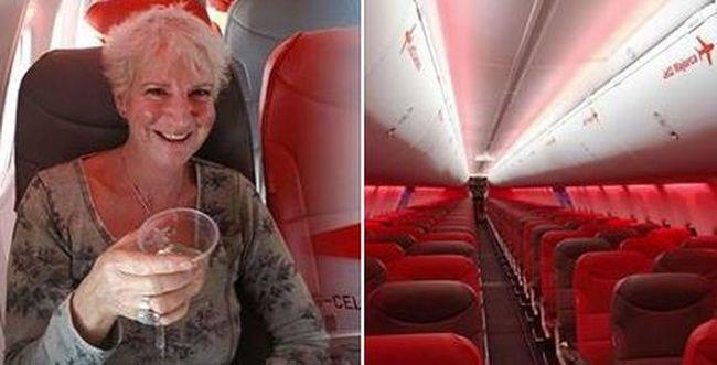Hihetetlen repülés: különleges utazásban volt része ennek a nőnek
