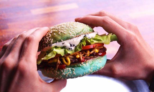 Önnek lenne gyomra hozzá? Bátraknak való hamburgert dobtak piacra