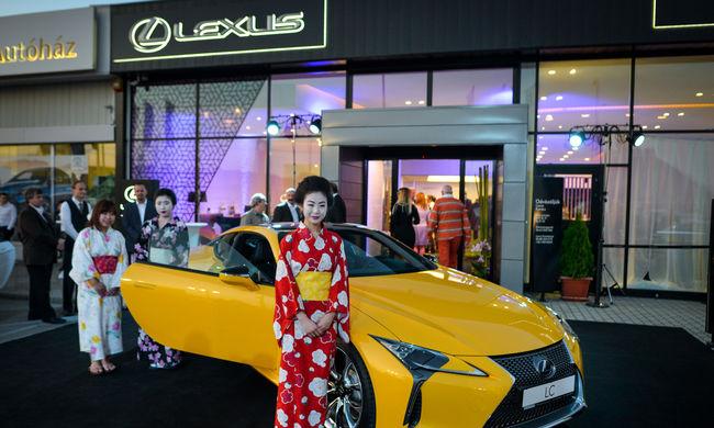 Hivatalosan is megnyílt a Lexus második hazai márkakereskedése