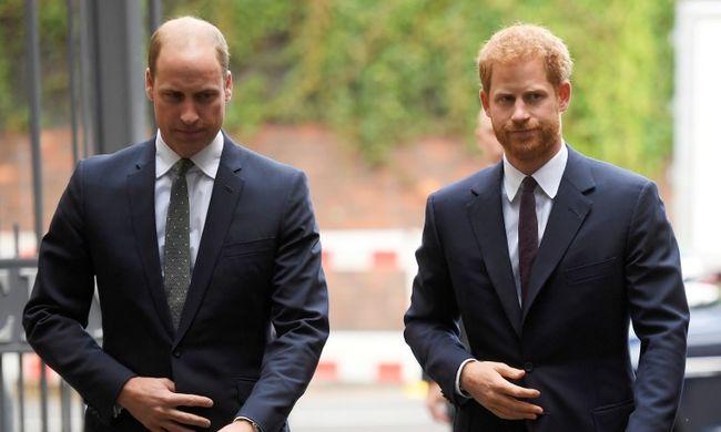 Vilmos és Harry herceg átállt a sötét oldalra
