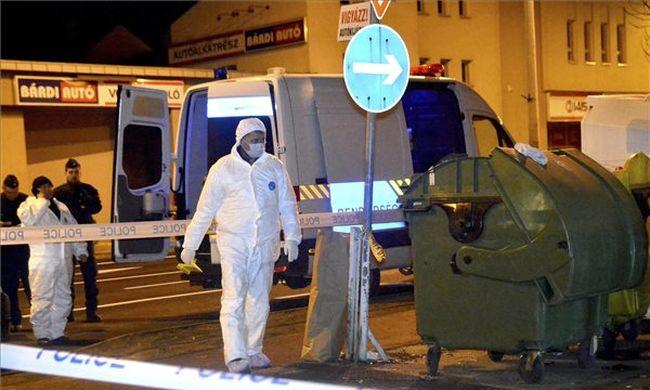 Konténer mellett találták meg a halott babát Nyíregyházán - fotó
