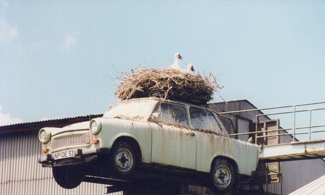 Trabant szoborcsarnok