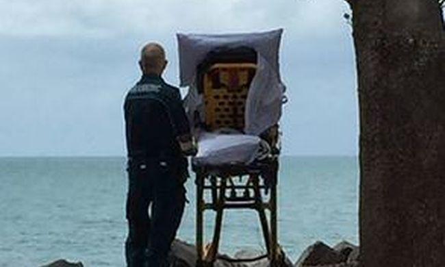 Megható fotó: teljesítették a mentők a haldokló beteg utolsó kívánságát