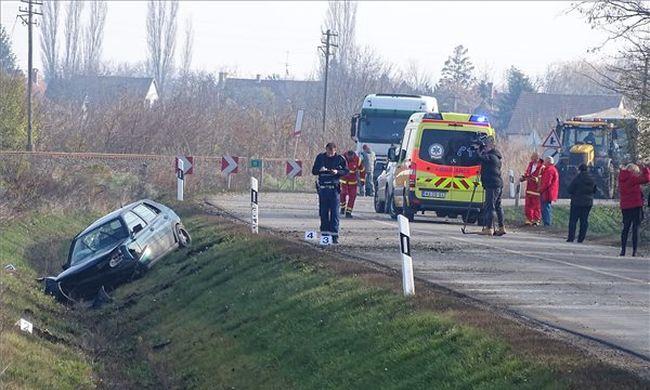 Végzetes baleset történt, nem voltak bekötve az utasok