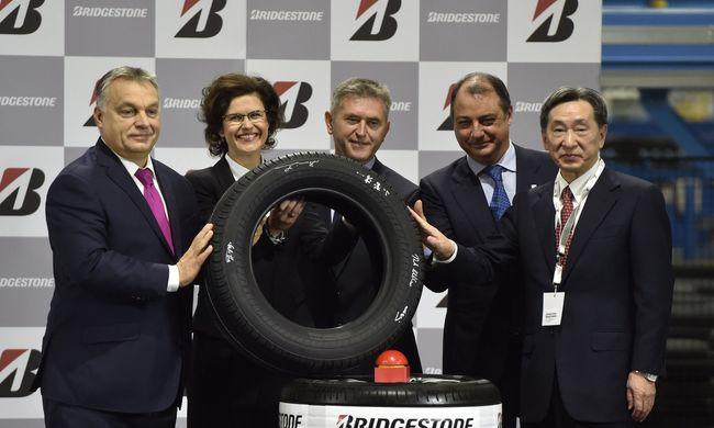 85 milliárdos fejlesztés a Bridgestone tatabányai gyárában
