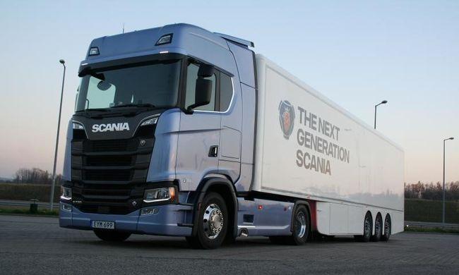 Bemutatkoztak a Scania új építőipari járművei