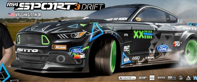 HPI RS4 Sport 3 Drift - Ford Mustang