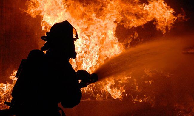 Borzalmas látvány fogadta a tűzoltókat a leégett épületben