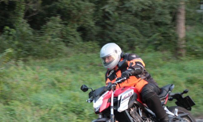 Honda CB 650 FA teszt - A csapatás eszköze