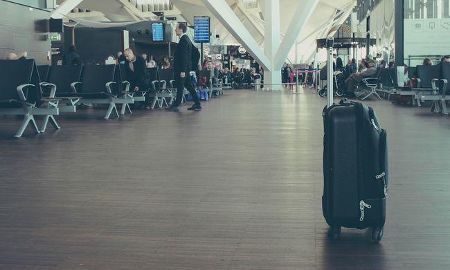Botrány a reptéren: bőröndöt lopott a tettes