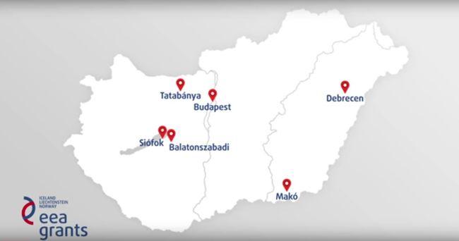Siófoktól Debrecenig, Tatabányától Makóig
