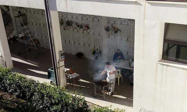 Botrány a temetőben: oda jártak grillezni a munkások