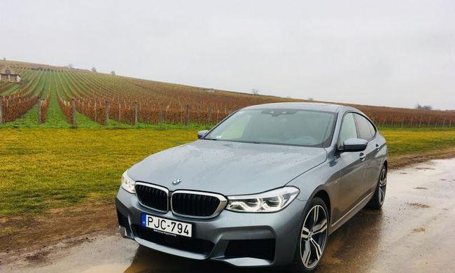 Kacsafar újratöltve, avagy mit tud dízelmotorral a BMW 6 GT?