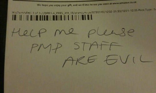 Megdöbbentő levelet kapott a nő a megrendelt csomag mellé