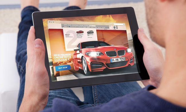 A következő Black Fridayen már autót is online rendelünk?