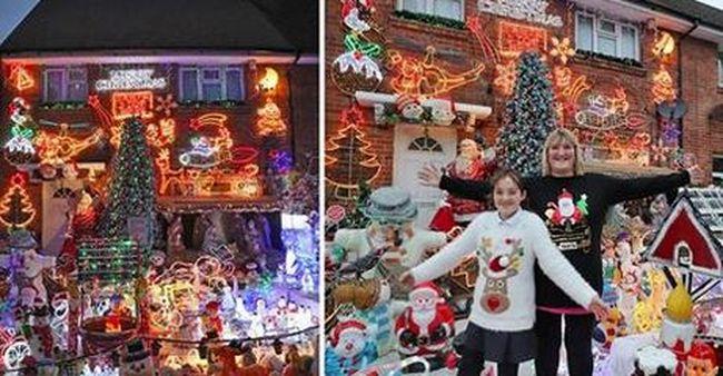 Különleges, karácsonyi módját választották a szomszédok bosszantásának