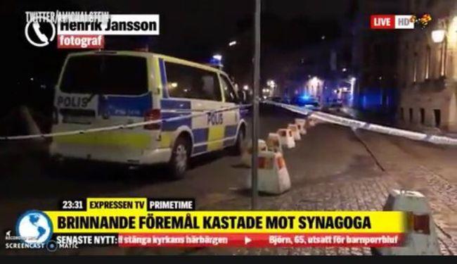 Megtámadták a zsinagógát, rendőrök lepték el az utcákat