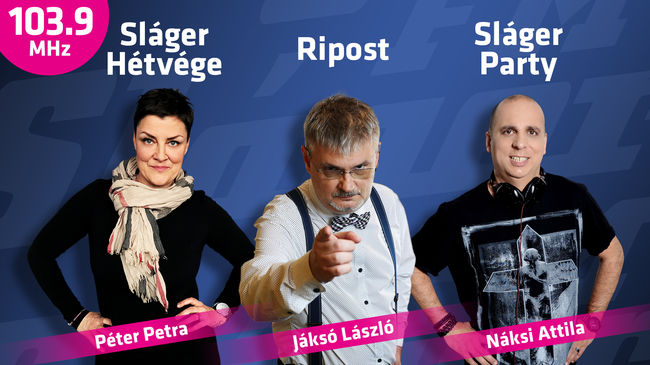 Dupláz a Ripost és Jáksó László a 103.9 Sláger FM-en!