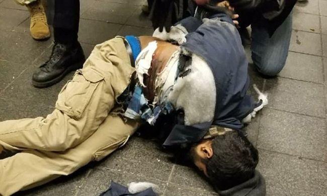 Terrortámadás New Yorkban: idő előtt robbant a bomba