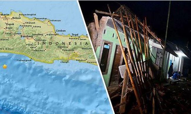 Halálos áldozatokkal járó földrengés volt Indonéziában