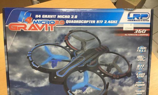 LRP Gravit Micro H4 2.0 Quadrocopter