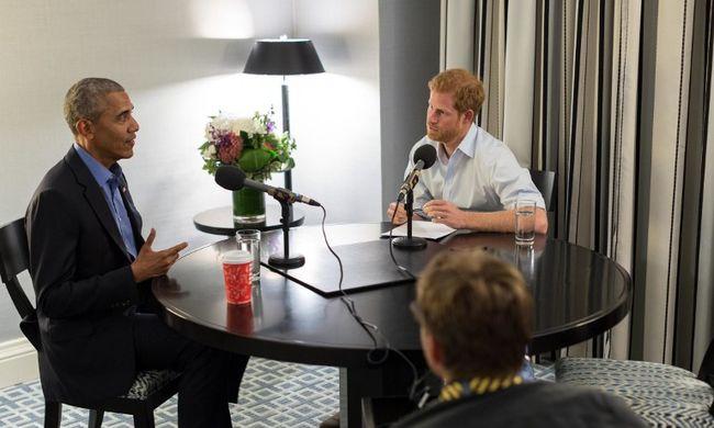 Harry herceg interjúvolta meg Obamát