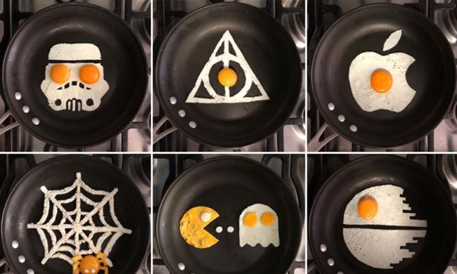 Elképesztő, mit művel a tojással ez a művész