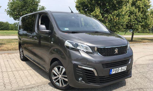 Peugeot Traveller teszt: utazásra csábít