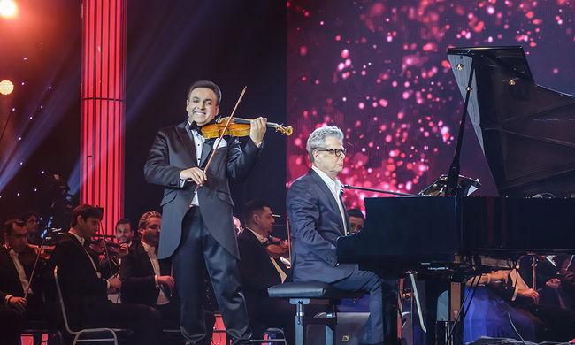 Hollywoodi csillagokkal jubilált Mága Zoltán újévi gálája az Arénában