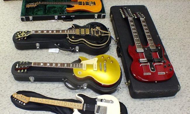 Értékes fogás: hangszereket loptak egy magyar férfitól