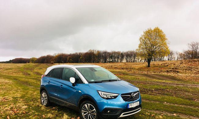 Dízel vagy benzines? Opel Crossland X dupla teszt