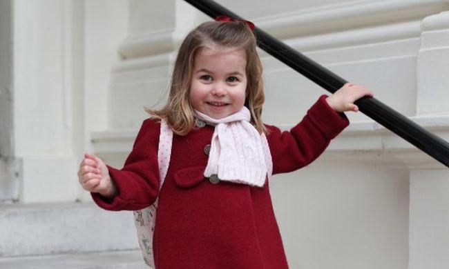 """Charlotte hercegnő elbűvölte a rajongókat, sokak szerint ő lehet a """"következő Diana"""""""