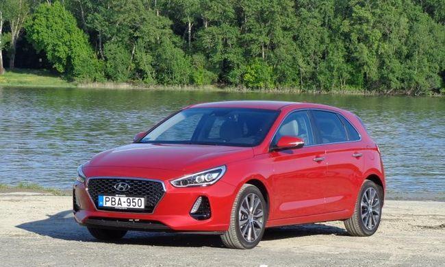 Csendestárs - Hyundai i30 1,4 T-GDi DCT teszt