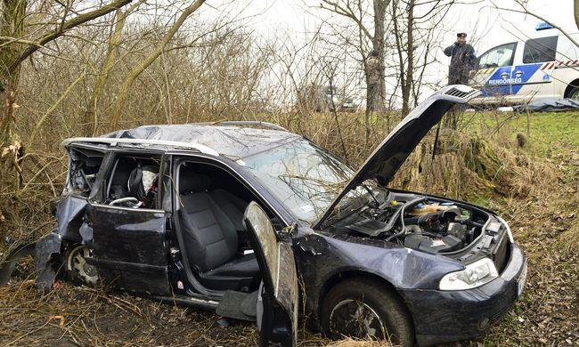 Megrázó felvétel érkezett a kállósemjéni balesetről