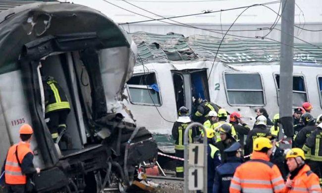 Durva videó: legalább három áldozata van a vonatbalesetnek, kihallgatják a vonatvezetőt