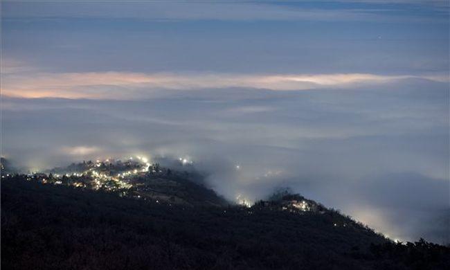 Köd és hó követi a fagyos reggelt