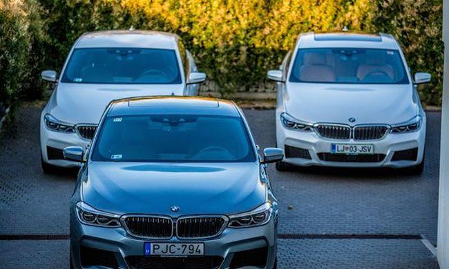 Modellszüret - Új BMW X3 és BMW 6GT  2. rész