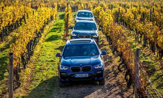 Modellszüret - Új BMW X3 és BMW 6GT  1. rész