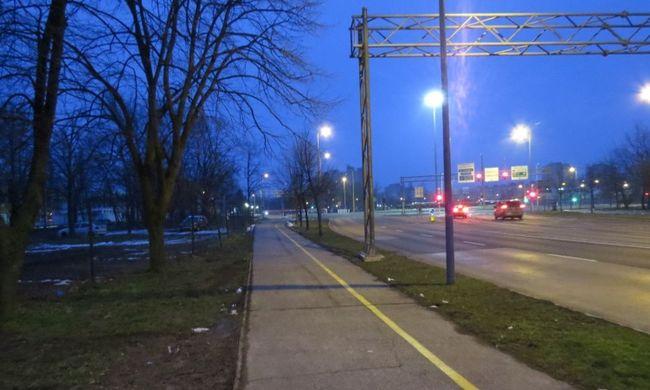 Rémület Győrben: sikoltozó lányhoz rohantak a rendőrök