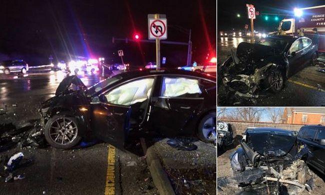 Elképedtek az utasok, ez történt velük a száguldozó kocsival baleset közben